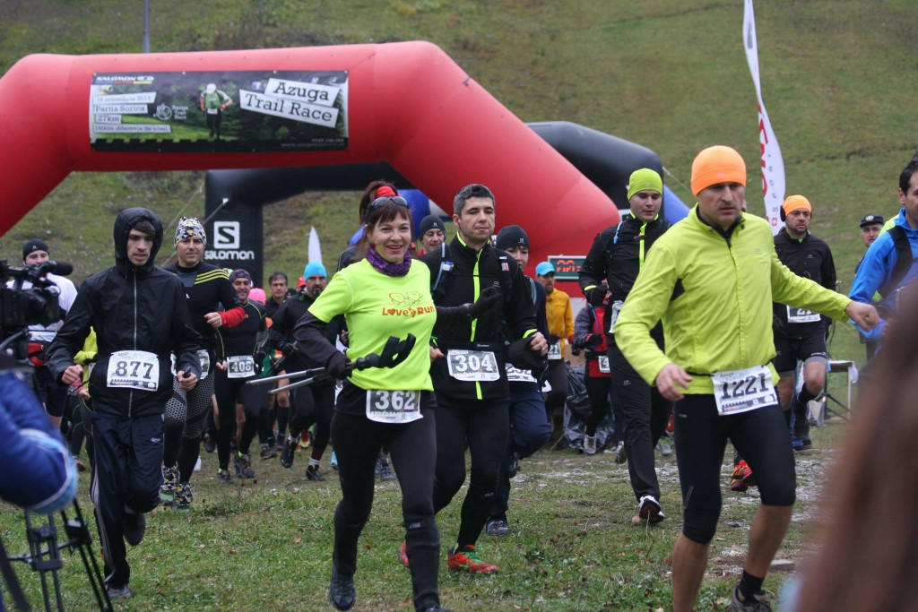 Start Azuga Trail Race
