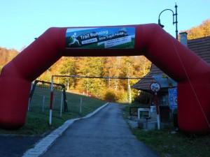 Poarta de start Sugas Trail Running