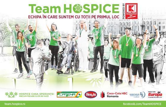 Team Hospice Semimaratonul International Bucuresti 2016